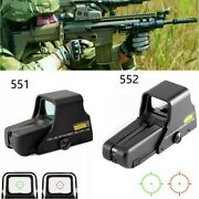 Upgrade Red Green Dot Holographic Sight 551/552 Tactical Airsoft Scope Sight