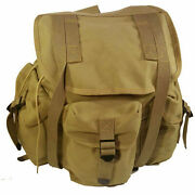 Ww2 Wwii Us Version Of Model 14 Haversack Canvas Field Bag Army Backpack Large