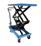 Dual Scissor Lift Table For Lifting And Transporting Loads Order-picking