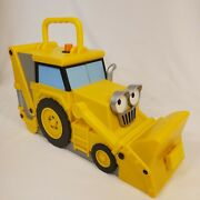 Bob The Builder Take Along Scoop Carry Case- Holds 15 Vehicles - 2006 Tractor