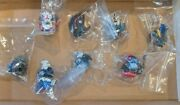 Gundam Head Bust Collection Trading Figure Lot Of 8