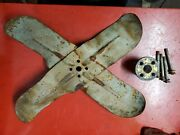 50's Ford Y-block Y Block Yblock 256 272 292 Fan Blade And Spacer And Bolts