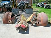 10 Vintage 1940and039s Diamond T Parts-hood-fenders And Braces-running Boards-grille