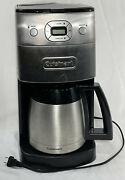 Cuisinart Coffee Maker - Grind And Brew Thermal 10 Cup Automatic Euc