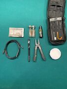 Gerber Military Soldiers 50 Cal Gun Cleaning Kit With Sheath 22-01104