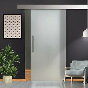 36.5 X 99 Sliding Frosted Glass Barn Door Full-private 30 Off