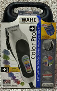 📀 Wahl Color Pro Plus Easy Match Color Coded Haircutting Kit - New