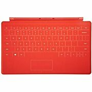 Microsoft Surface Touch Cover Keyboard Red For 10.6 Inch Rt Magnetic Type
