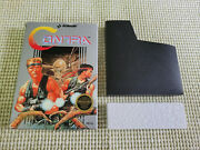 Contra - Nintendo - Nes - Authentic - Box Only - Round Seal