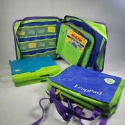 Leap Frog Leap Pad 2001 Learning System Books And Cartridge 10 Books 2 Pads