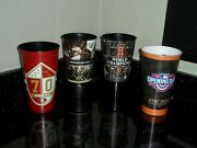 San Francisco Giants 20132015 Opening Day Souvenir Soda Cups+49ers Stadium Cup