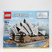 Lego 10234 Creator Expert Sydney Opera House Collectible Architecture New Htf