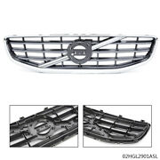 Abs Front Bumper Radiator Upper Grill Trim Fit For 2011 2012 2013 Volvo S60