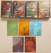 1992 Marvel Comic Card Series 3 Complete 1-200 Set With 5 Holograms