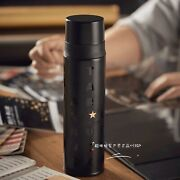 New 2021 China Starbucks 10th Anniversary 17oz Black Letter Print Ss Thermos Cup