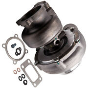 Street Gt35 Gt3582 Universal Turbo T3 Flange 4-bolt Anti-surge Water+oil Cooled