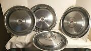 Lot Of Vintage 1970and039s Era Cadillac Hubcaps Wheel Covers