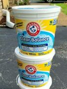 2x Arm And Hammer Clear Balance Swimming Pool Maintenance Tablets 16 Count 7 Lbs