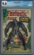 Cgc 9.4 Fantastic Four 64 1st Full Appearance Kree Sentry Ow/w Pages