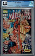 Cgc 9.8 New Mutants 98 White Pages 1st Appearance Deadpool