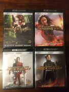 The Hunger Games Collection 4k Disc, Blu-ray New, Sealed