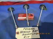 Federal Beacon Ray Light Mounting Kit / Studs Models 17 173 174 175 176