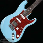 Tand039s Guitars Dst-classic22 Alder Ssh Roasted Maple Daphne Blue/rosewood