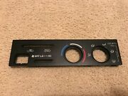 1997-2000 Toyota 4runner Tacoma A/c Heater Climate Control Face Plate Oem Used