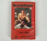 Blood Fight Bolo Yeung Vhs Video Tape R18+ Palace Entertainment