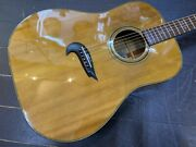 Alvarez Yairi Yd-70x Acoustic Guitar With Hard Case From Japan