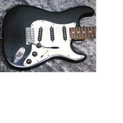 Fender Stratocaster And03981 International Color Cathey Ebony Electric Guitar