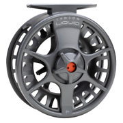 New Lamson Liquid 5+ Fly Reel Smoke Color - Free Shipping In Us