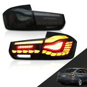 Tail Lights For Bmw 3-series F30 F35 F80 Sedan 2013-2018 With 3d Animation