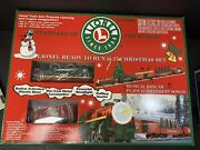 Lionel 6-21944 Ready To Run 0-27 Christmas Train Set 2000 New In Box S.1099