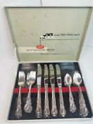 1847 Rogers Bros. The New Home Set Heritage Silverware Set Of 8