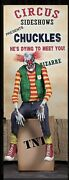 Halloween Pro Animated Prop Scary Clown Chuckles Full Size Figure Hfxp J20
