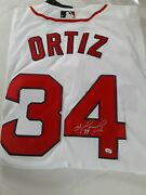 David Ortiz Signed Autographed Nike Boston Red Sox Jersey With Coa