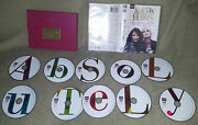 Absolutely Fabulous Dvd Tv Complete Box Series All Seasons Bbc Set Pink Purse