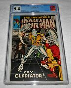 The Invincible Iron Man 7 Cgc 9.4 White Pages Marvel Comics 1968