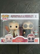 Good Omens Funko Pop 2 Pack Limited Edition