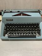 Vintage Facit Portable Typewriter Made In Sweden With Cover