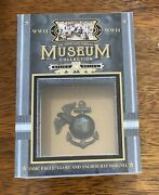Wwii Goodwin Champions Museum Collection Relic Usmc Marine Hat Insignia Rare
