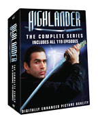 Highlander -the Complete Tv Series Collection Includes Bonus The Raven