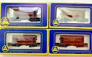 Ahm Ho Gauge Ore Cars Great Northern Union Pacific Southern Pacific Lot 4