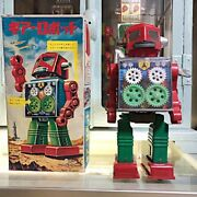 Made By Horikawa Toy 1970s Gear Robot With Box At That Time From Japan Toys