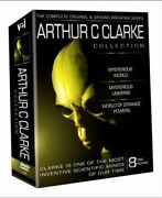 The Complete Arthur C Clarke Collection Writer Of 2001a Space Odyssey 8 Disc