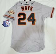 Authentic 52 2xl Willie Mays San Francisco Giants Holo Signed 660 Hr Jersey