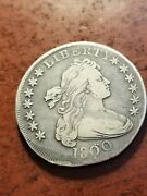 1800 Draped Bust Silver Dollar Very Tough  Inv05  S502