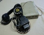Vintage Western Electric Space Saver Rotary Dial Telephone With Ringer Box
