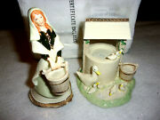 Hawthorne Village Irish Nativity Fetching His Water And Well Of Life Figurines